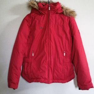 Columbia down filled winter coat